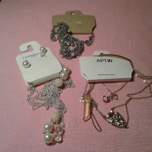 Jewelry - NWT Lot of 3 Assorted Long Hanging Necklace Sets